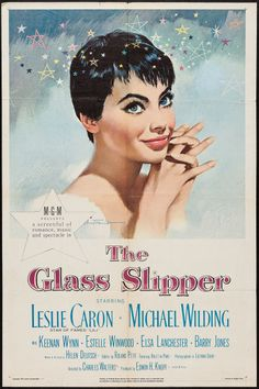 "Movie Posters:Musical, The Glass Slipper (MGM, 1955). One Sheet (27"" X 41""). Musical.. ... Image #1"