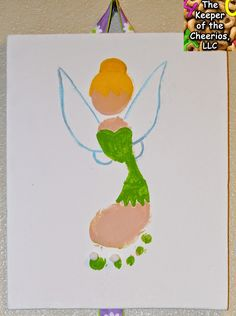 Tinker Bell and Periwinkle Secret of the Wings Footprint Craft