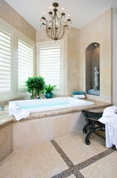 Neutral Master Bath Retreat Designed By Design House Houstons Premier Luxury Residential Interior Firm