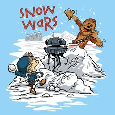 """""""Snow Wars"""" from DJKopet Want more options for this design? Click here. Zip Up Hoodies are available in sizes S to 4XL. The material is 8.5 ounce, 80/20 ring spun cotton/poly with a removable tag for comfort. There is a twill-taped neck with dyed-to-match YKK zipper and locker patch. Pullover Hoodies are available in sizes S to 4XL. The material is 8.5 ounce, 80/20 ring spun cotton/poly with a removable tag for comfort. There is a twill-taped neck and locker patch to minimize stretching…"""
