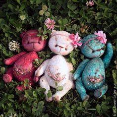 Купить Цветочные девочки, см информацию в блоге - суглобова татьяна, мишка, роккоко, розы