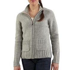 Carhartt Women's Full-Zip Sweater