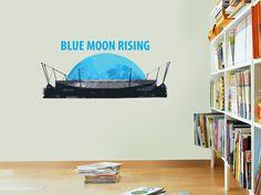 Manchester City Blue Moon Rising Wall Sticker by BeautifulGameWallArt on Etsy https://www.etsy.com/listing/165637669/manchester-city-blue-moon-rising-wall