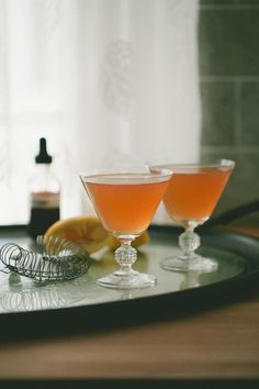 Lemon Verbena Whiskey Sour from A Thought For Food