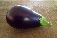 First eggplant from the garden!