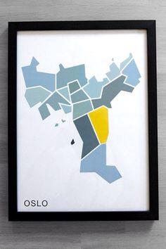 NØR Oslo poster