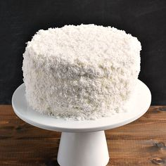 This is the best coconut cake recipe I've ever made. This easy coconut cake recipe is moist and delicious and uses fresh coconut! Recipe Using Fresh Coconut, Coconut Cake Easy, Best Coconut Cake Recipe, Coconut Recipes, Coconut Cakes, Lemon Cakes, Coconut Oil, Cupcakes, Cupcake Cakes