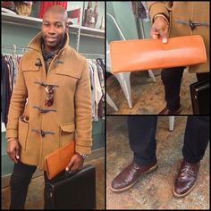 So a dapper man walks into #BuffaloExchange #Georgetown and… We take a photo of him. #LoveEverythingAboutThis ❤