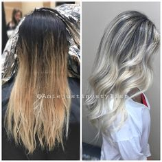 It's a proud moment when you see a before and after side by side. In love with the results of our first session and our next will make it even better! ���� You get the best results with the best products @olaplex @fanola_usa @love_kevin_murphy #kevinmurphyproducts #kevinmurphy #kmcolorme #hairsalon #cosmetology #haircolorsecrets #haircolorist #hairinspiration #hairtrends #louisvillesalon #louisvillehair #louisillestylist #louisvillehairstylist #louisville #louisvilleky #loveglamglitzhair