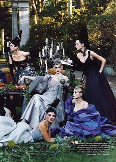 (Photography by Steven Meisel) | 1996 i ripped this pic out of a magazine when it was published i still have it in a fold of things that inspires me