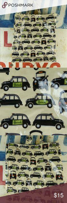 """Harrods Bag Tote Shopper Purse Harrods Bag Tote Shopper Purse Excellent condition  Cleanable surface Strap drop 6"""" Bag measures 15"""" x 4.5"""" x 16.5"""" harrods Bags Totes"""