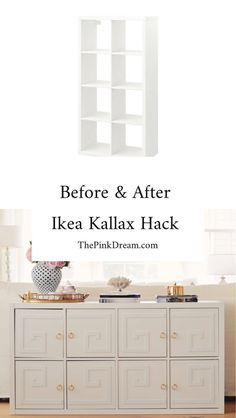 The Best Ikea Kallax Hack With Doors & Overlays