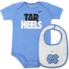 North Carolina Tar Heels Unc Newborn Welcome To The World Creeper