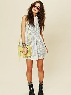 Favorite Free People dress to be worn anywhere:)
