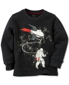 Carter's Baby Boys' Long-Sleeve Astronaut T-Shirt