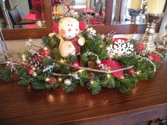 Hey, I found this really awesome Etsy listing at https://www.etsy.com/listing/256690655/snowman-centerpiece-holiday-centerpiece