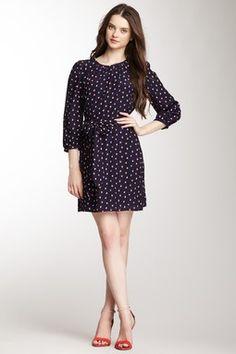 Pippa Buddy Print Silk Dress
