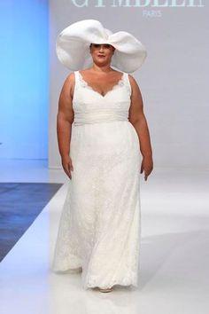 Robe de mariee pour mariage civil grande taille