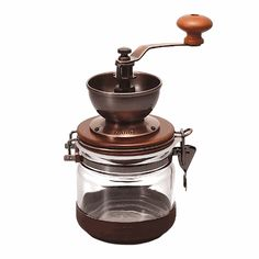 Wish list: Hario Canister Ceramic Coffee Mill from www.wholelattelove.com