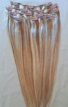 New Highlighted Clip In Human Hair Extensions