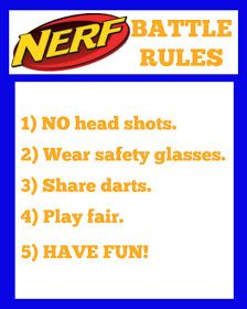 East Coast Mommy: NERF Party Signs Nerf Party Food, 7th Birthday Party Ideas, Boy Birthday, Battle Party, Nerf War, Party Signs, Party Printables, East Coast, Nerf Gun Cake