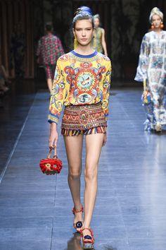 Dolce & Gabbana | Spring 2016 | Look 39