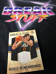 Enes Kanter Rookie Card #eneskanter #utahjazz #rookieremembrance #nbahoops #rookiecards #nbacards #basketballcards #panini #paniniamerica #whodoyoucollect #tradingcards #marketplace #ballin #ballislife #collector #cardcollector Utah Jazz, Basketball Cards, Trading Cards, Nba