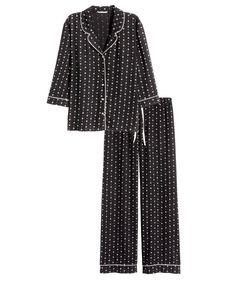 Lounge in the Season's 6 Coziest Winter PJ Sets  - H&M   - from InStyle.com
