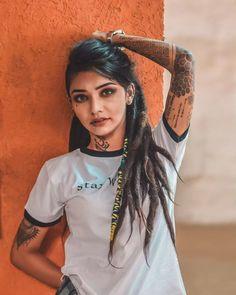Wish Rathod (Tik Tok) Biography,Wiki, Age, Boyfriends Tattoo Girls, Girl Tattoos, Rat Hod, Sr K, Star Wars, Sexy Teens, S Girls, Girls Eyes, Girls Makeup