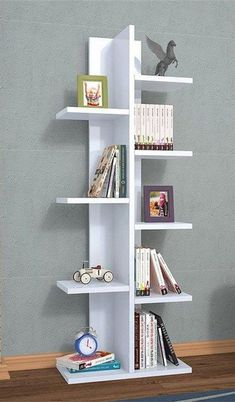 kids Wall Shelves,wall decor,bookcase in 2019 Kids Wall Shelves, Wall Bookshelves, Wall Shelves Design, Bookshelf Design, Decorative Wall Shelves, Shelf Desk, Wall Shelving, Shelving Units, Shelving Ideas