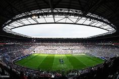 General view of the Grand stade de Lyon during the European Rugby Champions Cup Final match between Racing 92 and Saracens at Stade de Lyon on May 14, 2016 in Lyon, France.