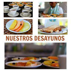 Una pequeña muestra de lo que son los deliciosos #desayunos en la #HosteríaMarySol  Preparados con amor para hacer feliz a nuestros #huéspedes. Coco, Pancakes, Breakfast, Gastronomia, Happy, Restaurants, Morning Coffee, Pancake, Crepes