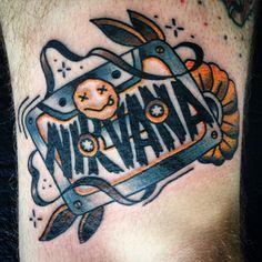nirvana tattoo design - Google Search