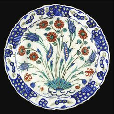 An Iznik polychrome pottery dish, Turkey, circa 1565