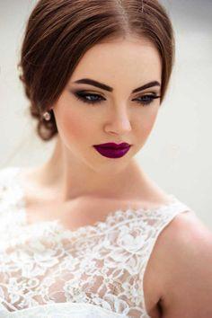 Amazing Wedding Makeup Tips – Makeup Design Ideas Fresh Wedding Makeup, Wedding Makeup Looks, Natural Wedding Makeup, Wedding Make Up, Natural Makeup, Magical Wedding, Dramatic Wedding Makeup, Simple Bridal Makeup, Wedding Ideas