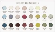 Benjamin Moore's Color trend for 2015