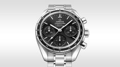 Discover the Speedmaster Speedmaster 38 Co-Axial Chronograph 38 mm Watch - 324.30.38.50.01.001!