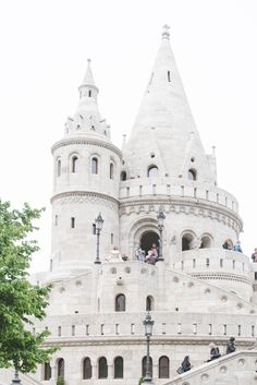 Fisherman's Bastion in Budapest - from travel blog: http://Epepa.eu