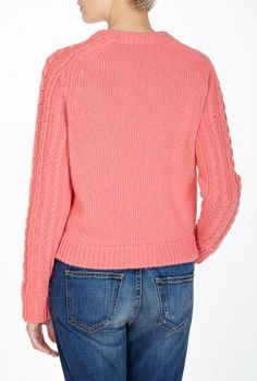 Pink Knit Jumper By See By Chloe