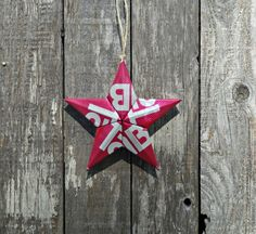 Upcycled Tab Soda Can Star Ornament by LicenseToCraft on Etsy