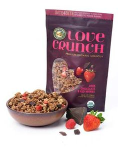 OMG I'm obsessed with this. SO GOOD. Nature's Path Love Crunch Premium Organic Granola, Dark Chocolate and Red Berries