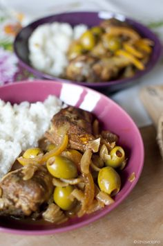 Мароканско пилешко со маслинки и солени лимони / Morrocan chicken with olives and preserved lemons - Sitno Seckano