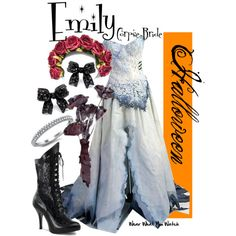 Corpse Bride, created by wearwhatyouwatch on Polyvore