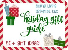 It's hard to believe but it's time to start thinking about Christmas! Here are 50+ oily gift ideas for every budget and person!