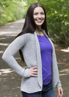 The Leudinghause Cardi was a crochet-along on my blog. You can follow the links below to view the pattern completely free in crochet along form or you can purchase the entire PDF pattern for $1.50.