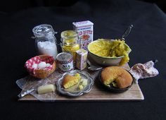 miniature kitchen display