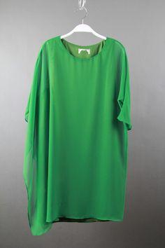 KK美衣小店,[唯一高端女装] 纯真丝连衣裙,夏天的颜色,里衬都是真丝哦!一个颜色,不挑身材!