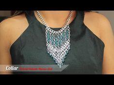 Aprende cómo hacer Collar Cuero pendiente Amatista | Variedades y Fantasías Carol - YouTube