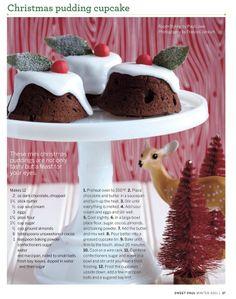 Christmas Pudding Cupcakes Recipe | I Love