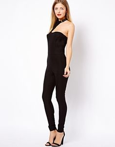 ASOS+Jumpsuit+with+Buckle+Neck+Detail